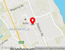 Map of Arnolds Interiors Wirral