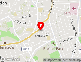 Map of Wirral Window Cleaning