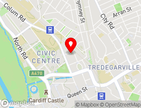 Map of Cardiff Cleaning