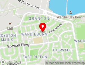 Map of AMDE Carpet Cleaning Edinburgh & Upholstery Cleaning