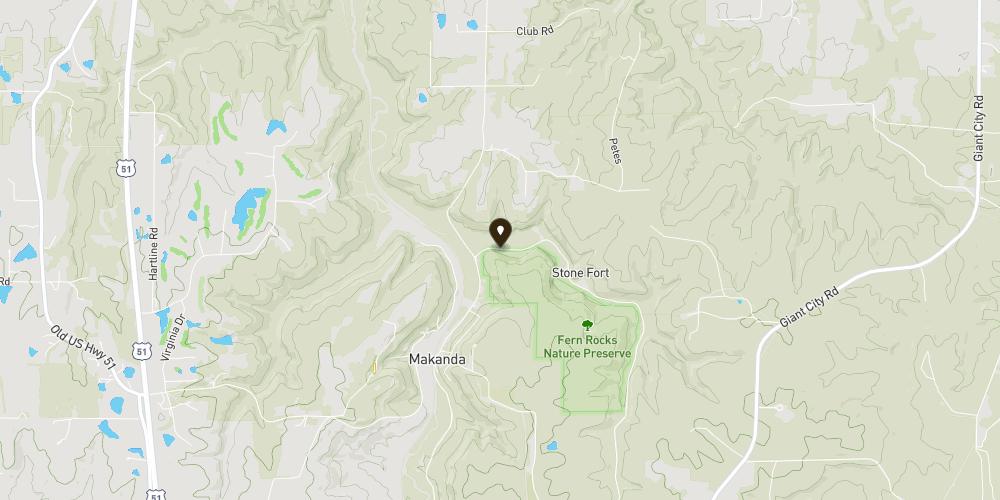 Mapbox Map of -89.203665,37.624929