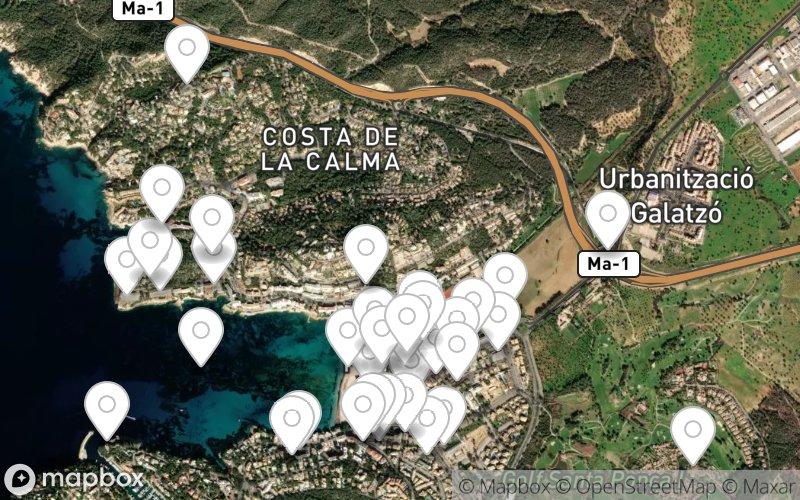 Stadtplan von Santa Ponsa