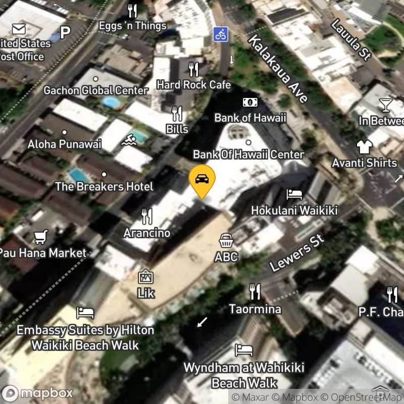 Satellite Map of the vehicle located at 255 Beach Walk