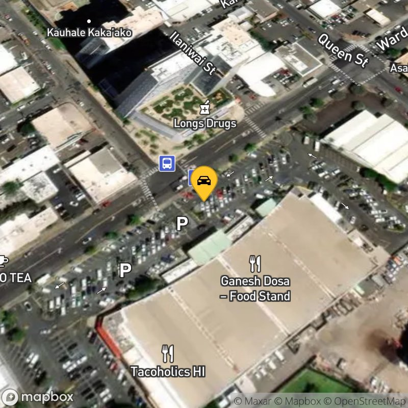 Satellite Map of the vehicle located at 333 Ward Ave