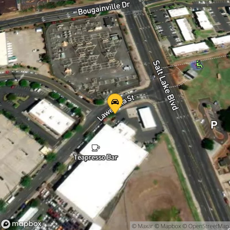 Satellite Map of the vehicle located at 4259 Lawehana St