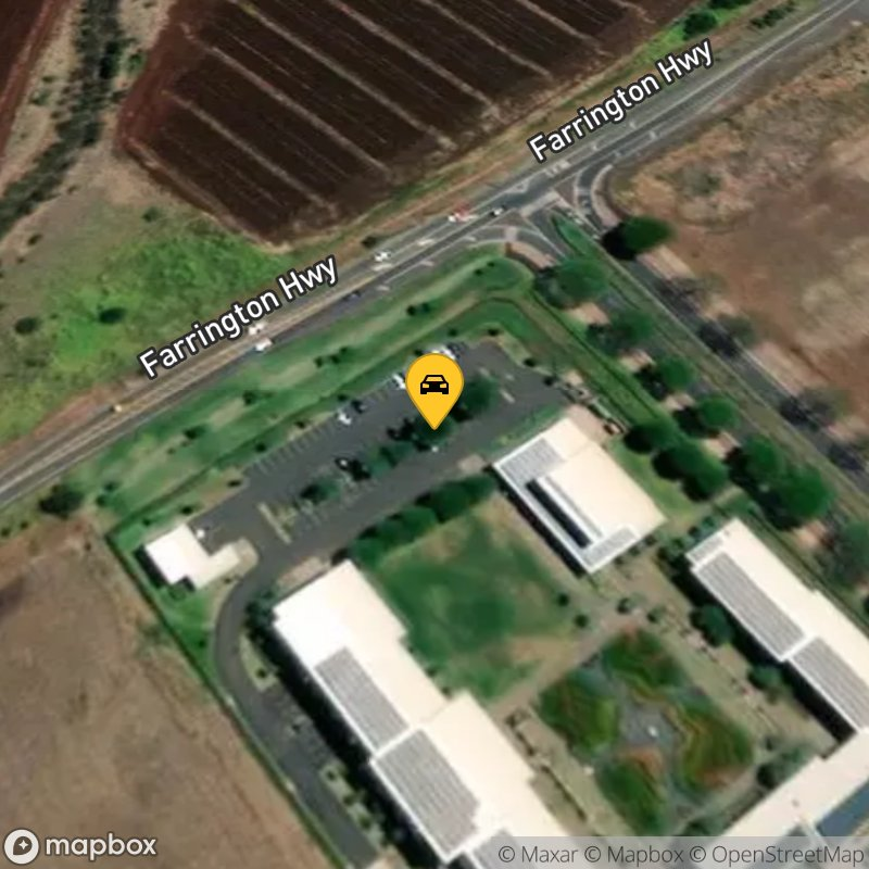 Satellite Map of the vehicle located at 91-971 Farrington Hwy