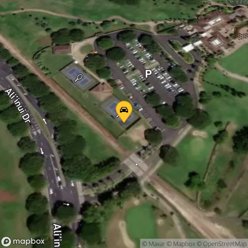 Satellite Map of the vehicle located at 92-1220 Aliinui Dr