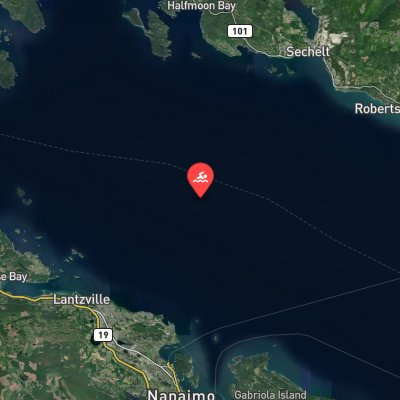 Georgia Strait route