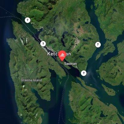 Pennock Island Challenge route