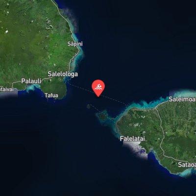 Apolima Strait route
