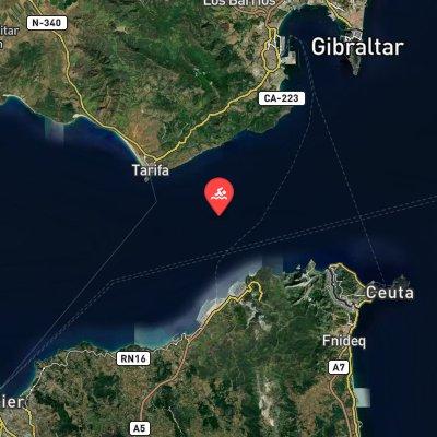 Strait of Gibraltar route