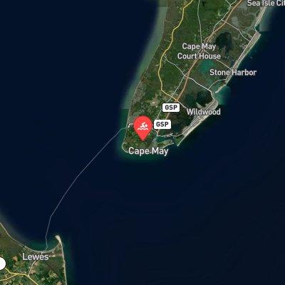 Cape Circumnavigation Challenge route
