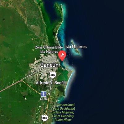 Cancun Grand Prix route