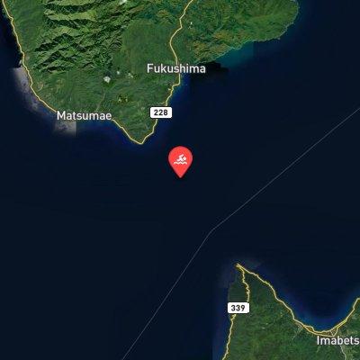 Tsugaru Strait route