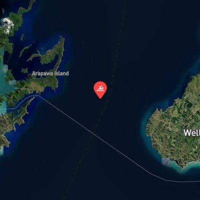 Cook Strait route