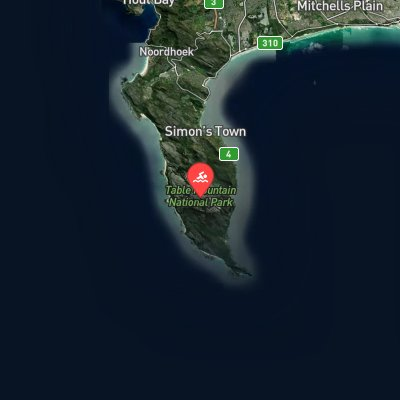 Cape Peninsula coastal swim route