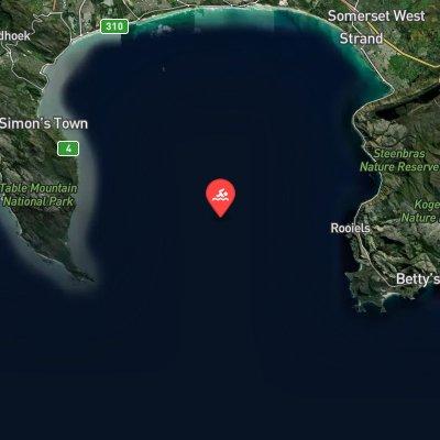 False Bay route