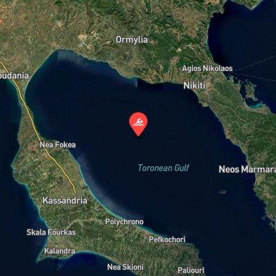 Toroneos Gulf Marathon route