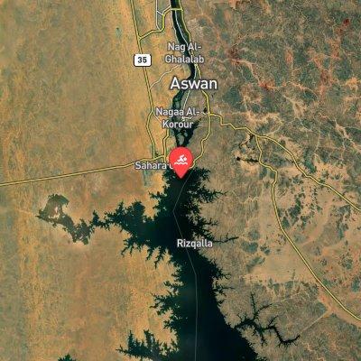 Aswan Marathon route
