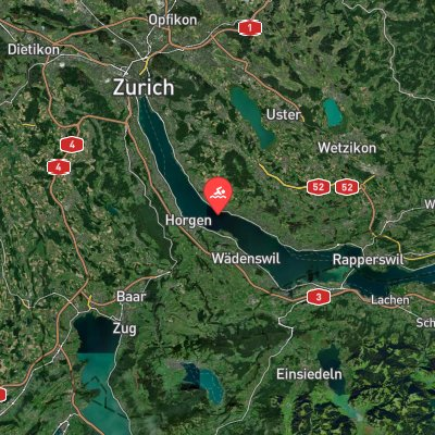 Lake Zurich route