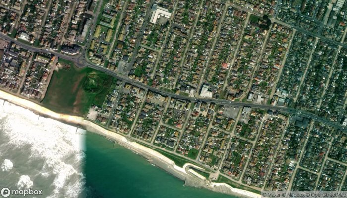 Caring Lady Funeral Directors Peacehaven satellite image
