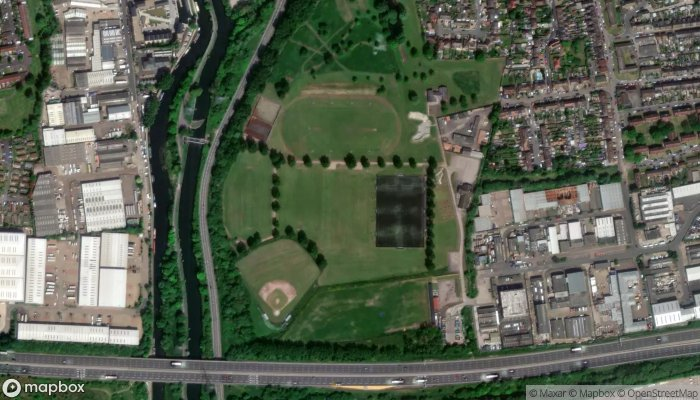 Town Mead satellite image