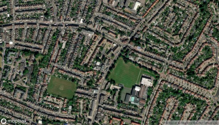 North Enfield Conservative Club satellite image