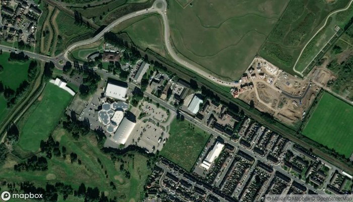 Humberside Police Grimsby North Police Station satellite image