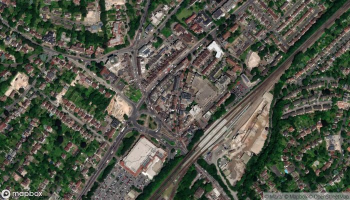 Purley Dry Cleaners satellite image