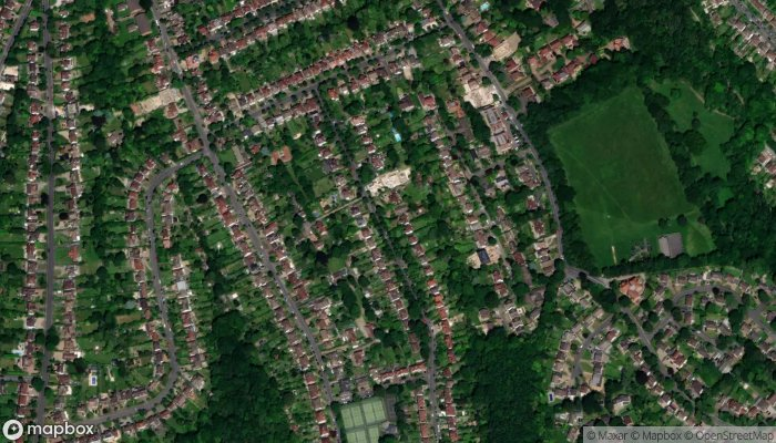 A Ward Electrical Services satellite image