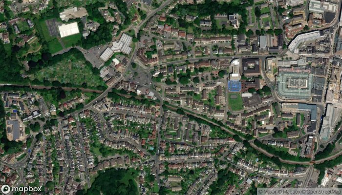 Airport Taxis Redhill And Reigate satellite image