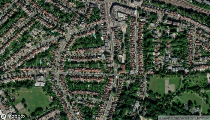 Finchley Road Synagogue satellite image