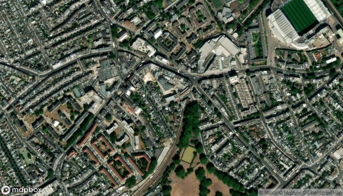 We Buy Any Car Fulham satellite image