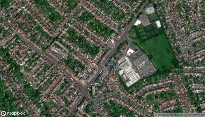 Cheam Arena satellite image