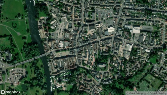 The Coach House satellite image