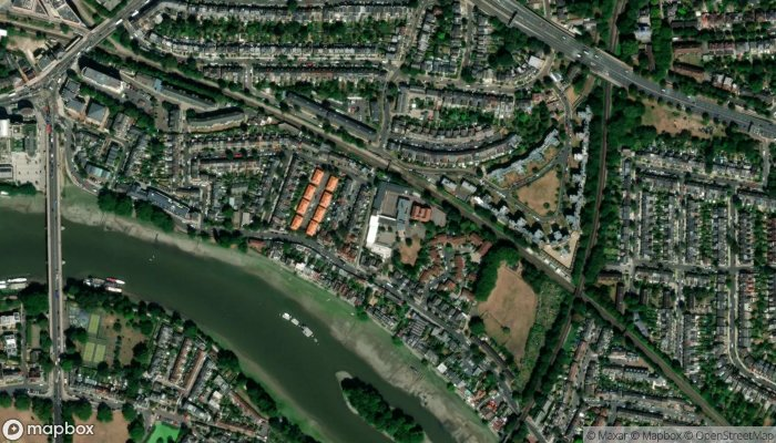 Strand On The Green Infant School satellite image