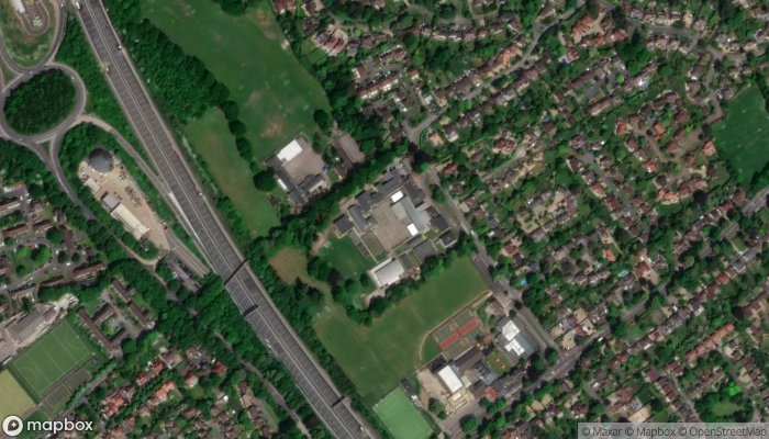 Leatherhead Choi Kwang Do satellite image