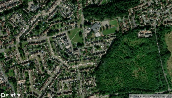 Abbots Langley Baptist Church satellite image