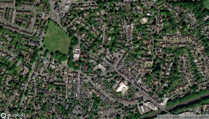 The Beauty Of Weybridge satellite image