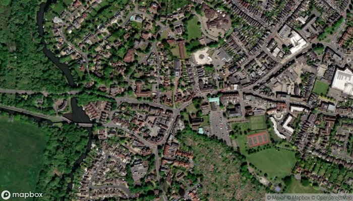 Curchods Sales Weybridge satellite image