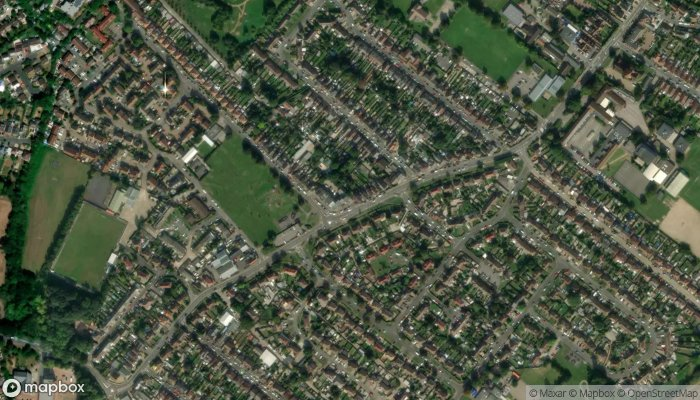 Pooley Green Local satellite image