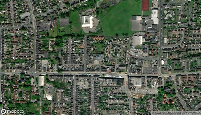 Ashby Mill Road Club satellite image