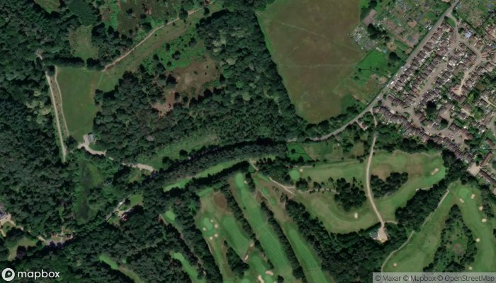 Rushmere Country Park satellite image