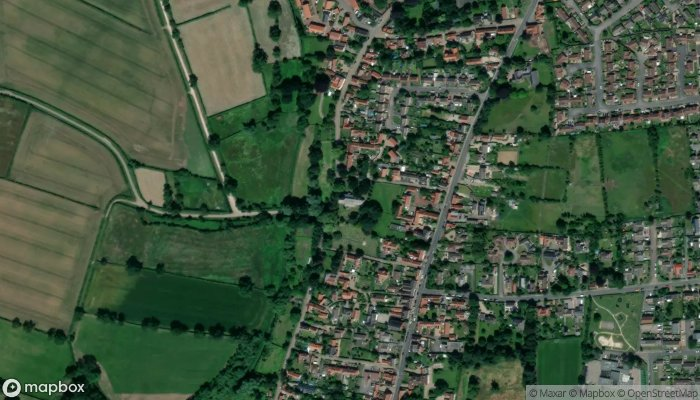 All Saints Church Collingham satellite image