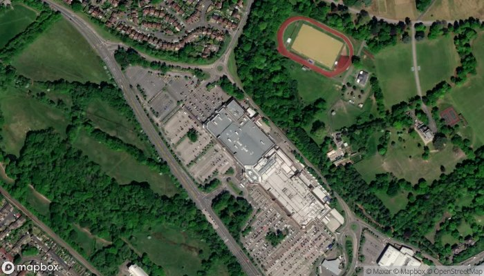Marks Spencer Camberley The Meadows satellite image