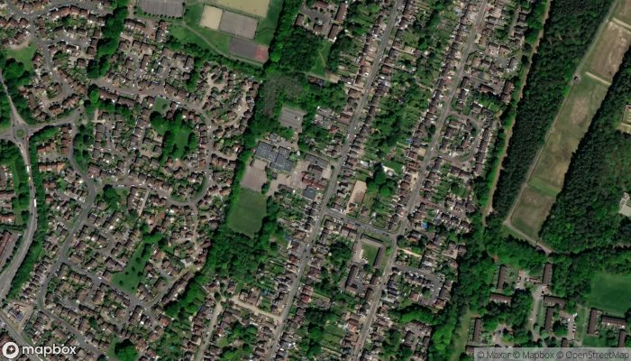College Town Infant And Nursery School satellite image