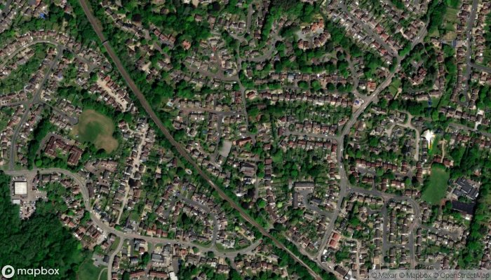 Sandhurst And Yateley Methodist Church satellite image