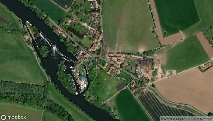 Mill End satellite image