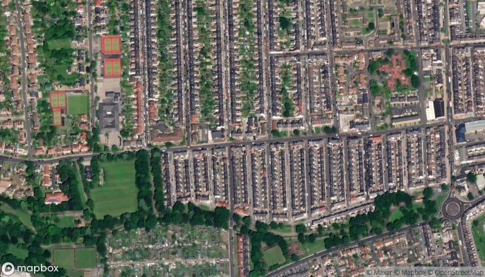 Homefront Electrical satellite image