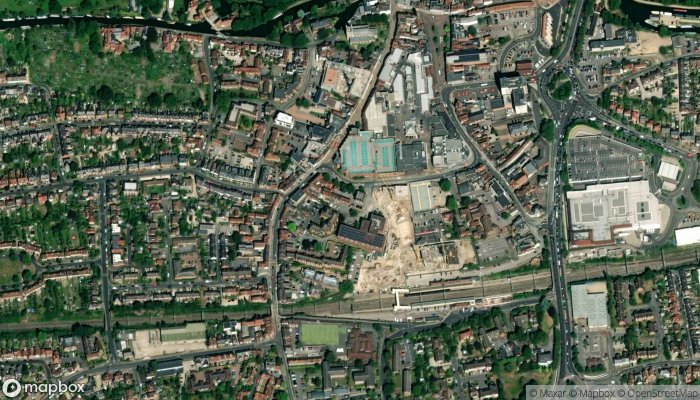 Cow Cask satellite image